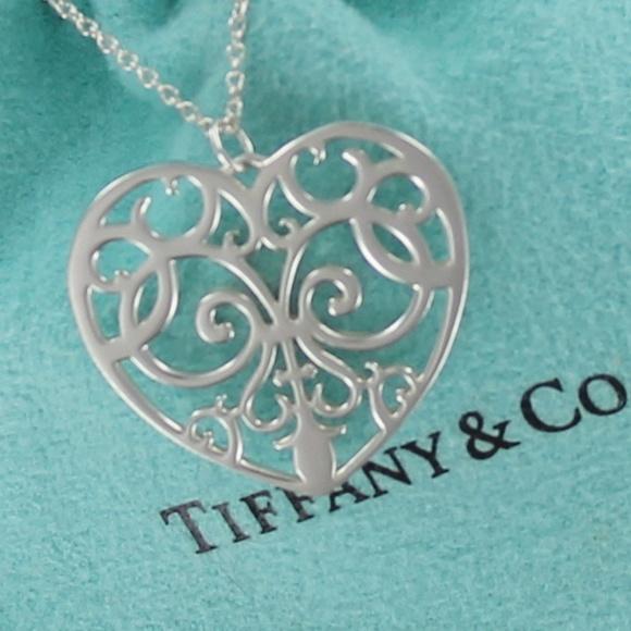 Tiffany Co Jewelry Tiffany Co Enchant Lg Heart Pendant
